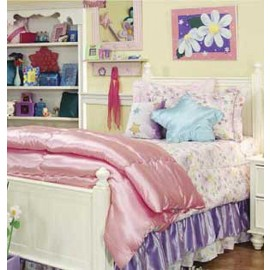 Glitter Fairy Bunk Bed Hugger Comforter by California Kids