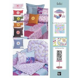 Go Girl Crib Pillow