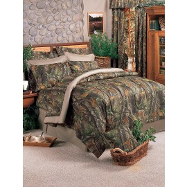 Realtree Hardwoods Camo Comforter Set - Twin Size