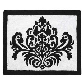 Isabella Black Floor Rug