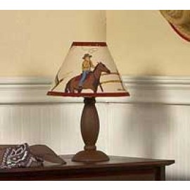 Wild West Cowboy Western Lamp Shade