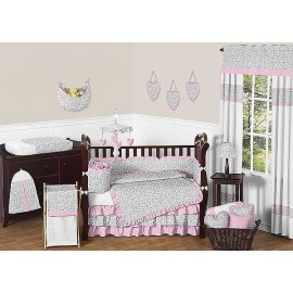Kenya Crib Bedding Set by Sweet Jojo Designs - 9 piece