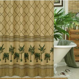 Kona Tropical Themed Shower Curtain