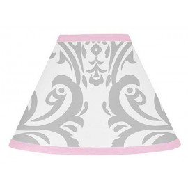 Pink & Gray Elizabeth Lamp Shade
