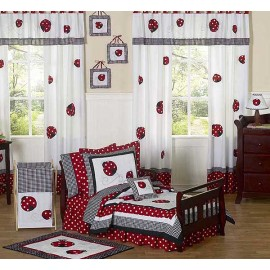 Little Ladybug Toddler Bedding Set By Sweet Jojo Designs