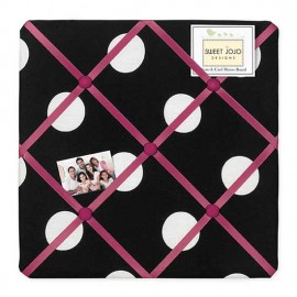 Hot Dot Fabric Memo Board
