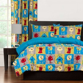 Crayola Monster Friends Comforter Set - Full Size