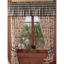 Northern Exposure Curtain Panels