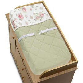 Rileys Roses Changing Pad Cover