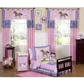 Pony Toddler Bedding Set By Sweet Jojo Designs