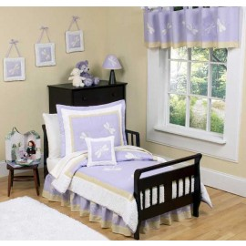 Lavender Dragonfly Dreams Toddler Bedding Set By Sweet Jojo Designs
