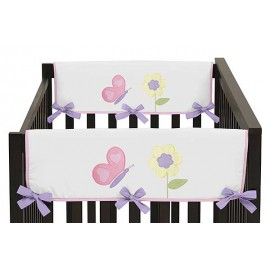 Butterfly Pink & Purple Collection Side Rail Guard Covers - Set of 2