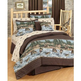 River Fishing Sheet Set - Full Size