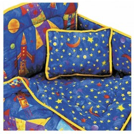 Rockets Bunkie Comforter - Toddler Bedding