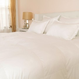 650 Fill Power White Duck Down - 400 Thread Count Sateen Pima Comforter
