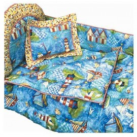 Seaside Bunkie Comforter - Toddler Bedding