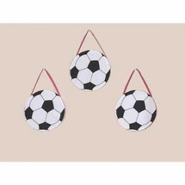 Pink Soccer Wall Hanging