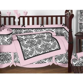 Sophia Crib Bedding Set by Sweet Jojo Designs - 9 piece