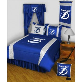 Tampa Bay Lightning Sideline Wall Hanging - 28 X 45