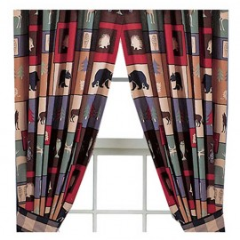 The Woods Curtain Panels