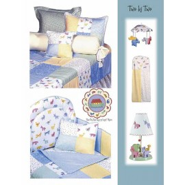 Two By Two Rod Pocket Drapes