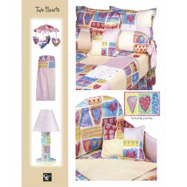 Two Hearts Window Valance