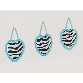 Blue Zebra Wall Hanging