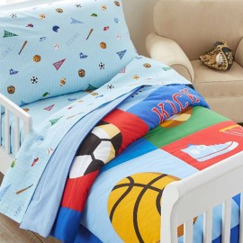 Game On Toddler Size Comforter by Olive Kids