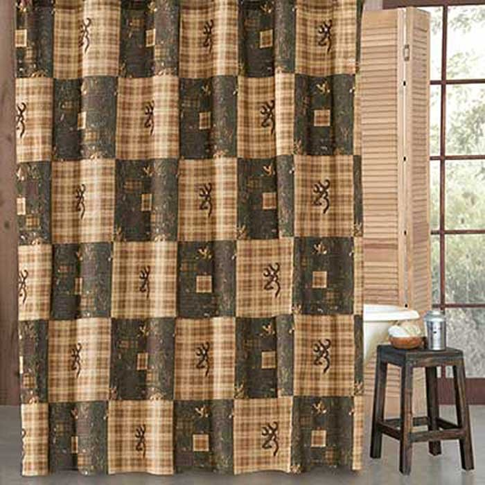 Browning Country Shower Curtain Blanket Warehouse