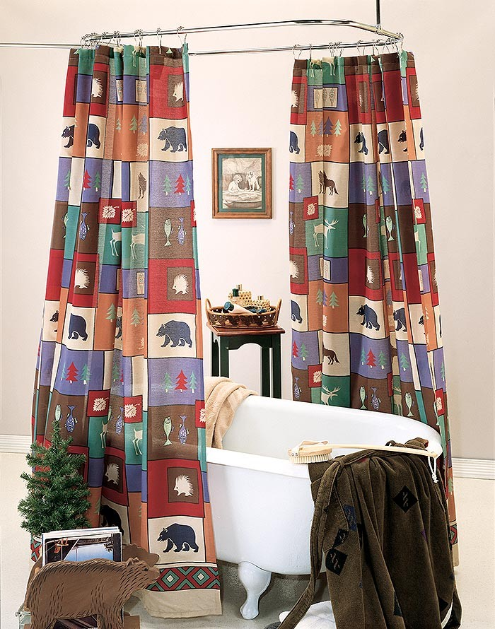 The Woods Shower Curtain