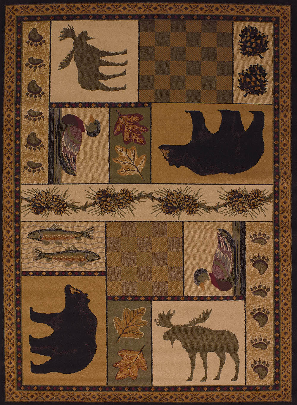 Cabin Themed Rugs