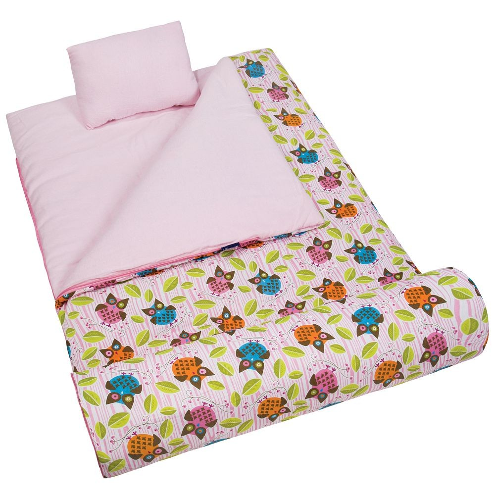 Owls Sleeping Bag by Olive Kids