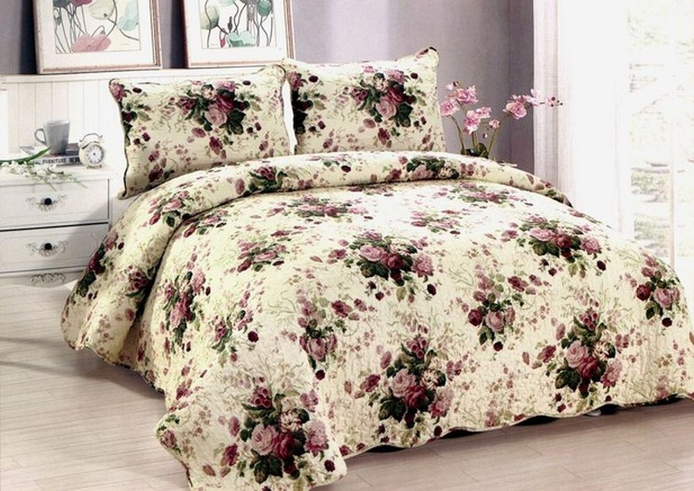 Chinese Rose Quilt - King Size
