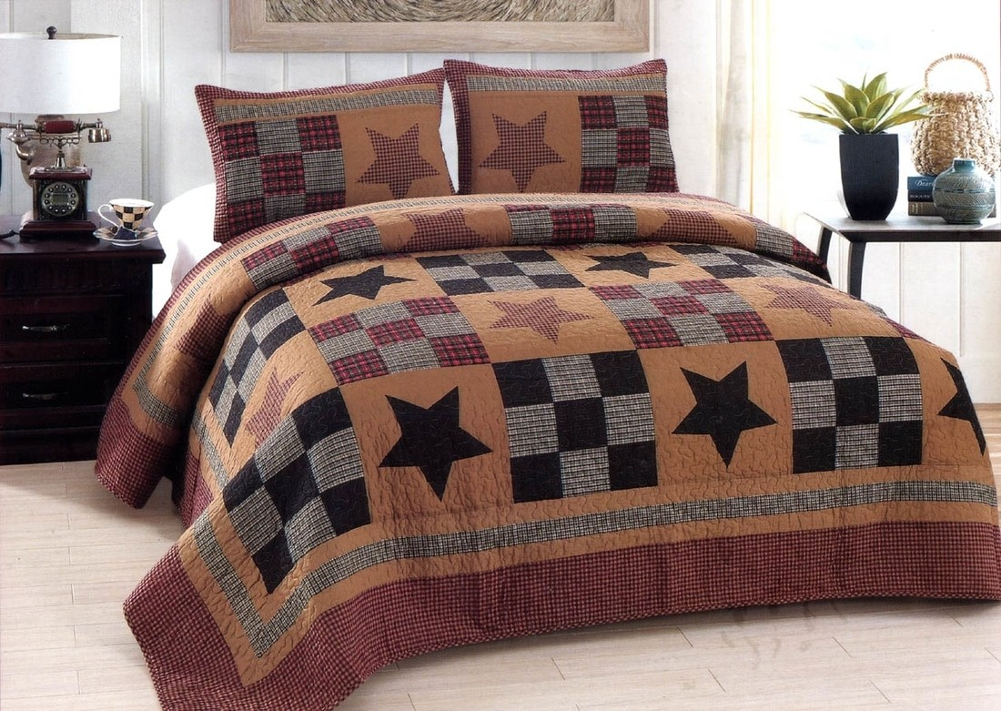 Prairie Star Quilt American Hometex Quilts King Size