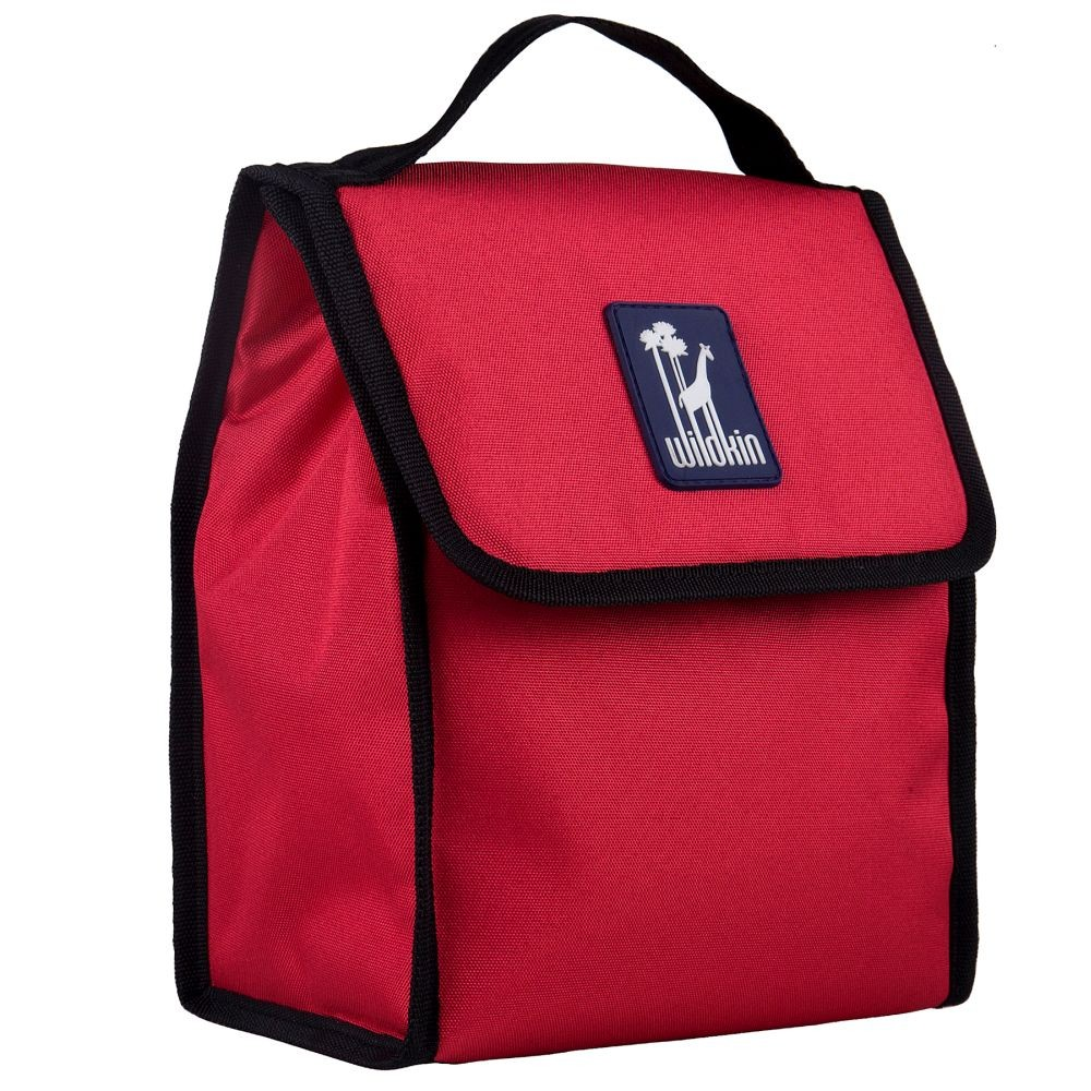 Cardinal Red Lunch Bag