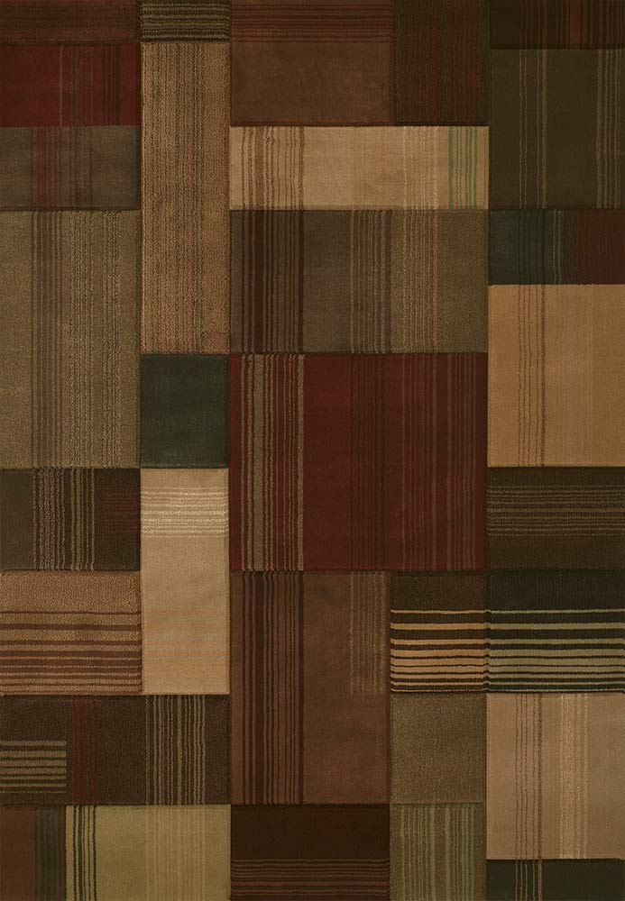 Transition Toffee Area Rug - Modern Style Area Rug Style