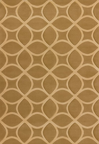 Isomer Beige Area Rug - Transitional Style Area Rug