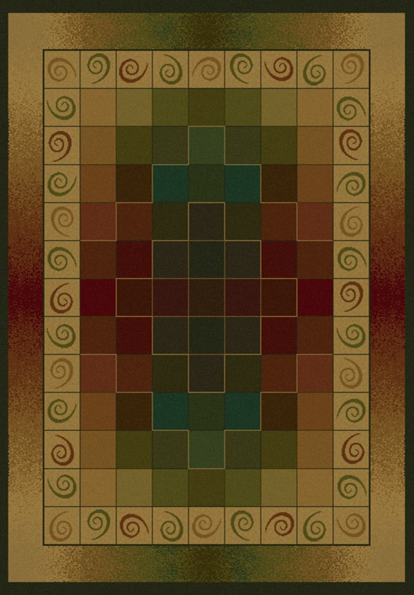 Montage Lodge Area Rug - Transitional Style Area Rug