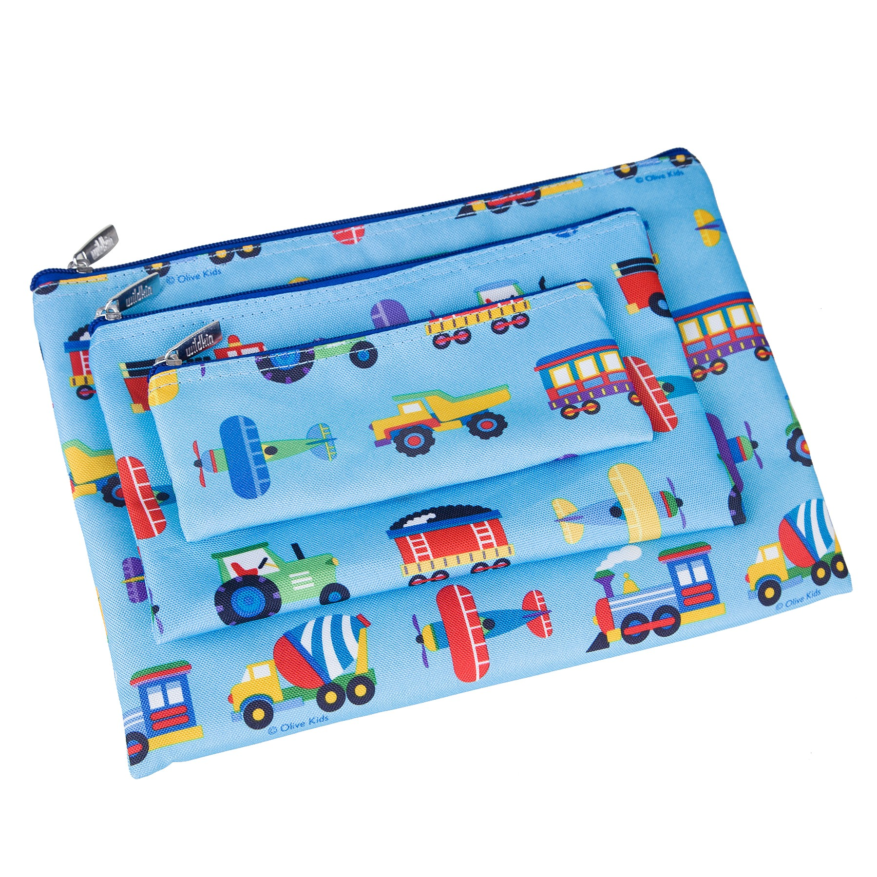 Trains, Planes & Trucks 3-pc Organizer