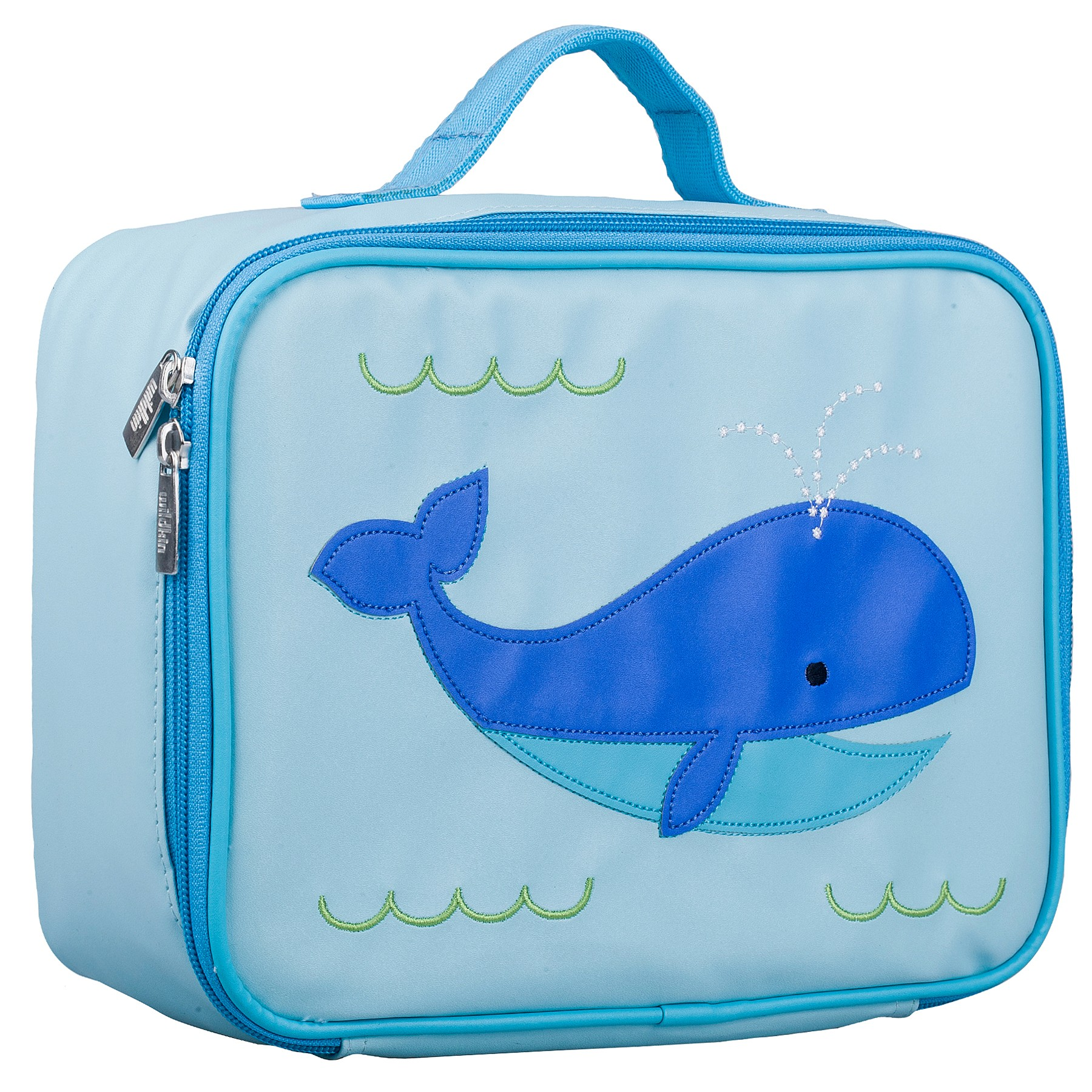 Olive Kids Whale Embroidered Lunch Box