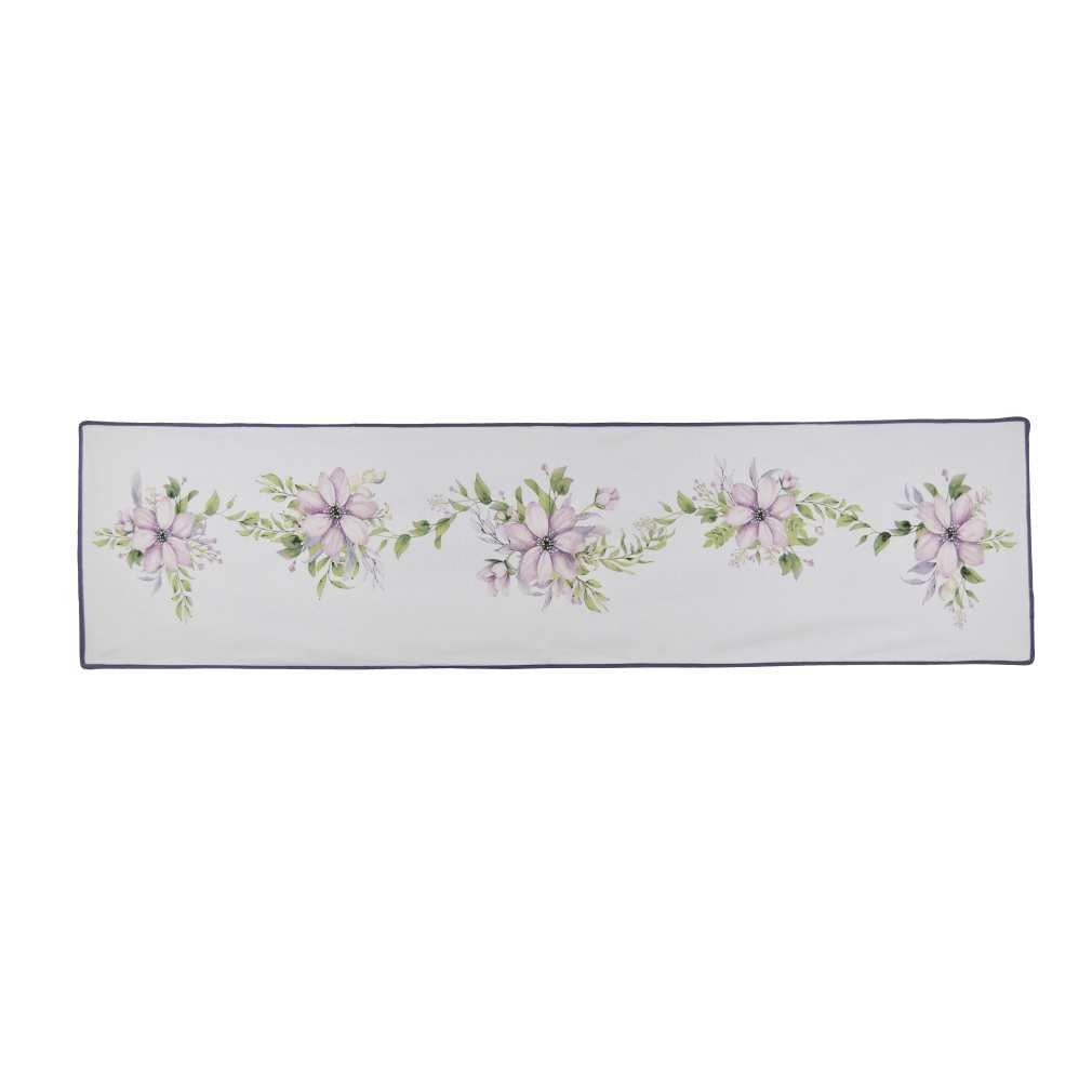 Donna Sharp Forget Me Not Valance/Runner - 15 X 56