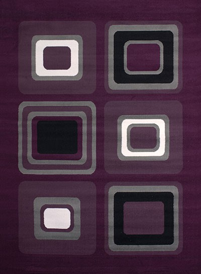 "Spaces Lilac Accent Rug (23"" X 36"")"