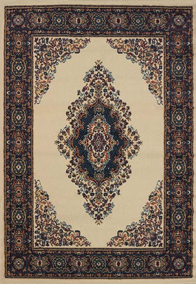 Cathedral Cream Area Rug - Traditional Style Area Rug
