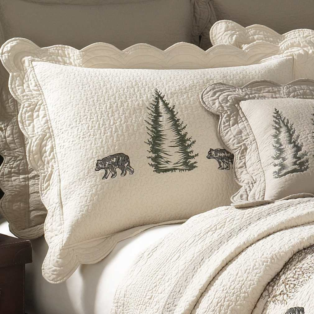 Donna Sharp Bear Creek Standard Sham