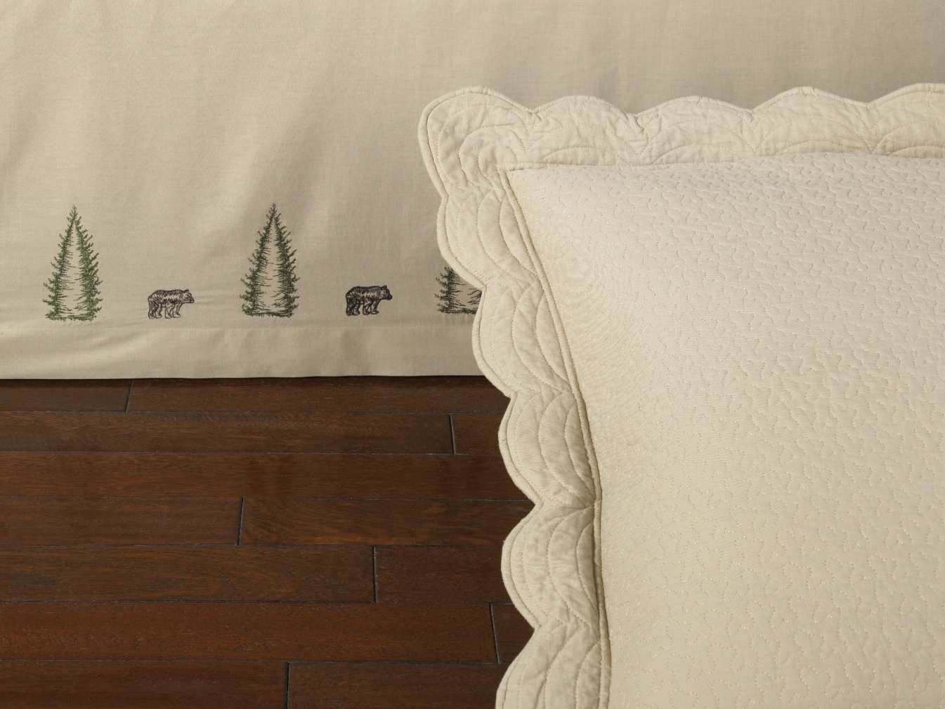 Donna Sharp Bear Creek Full Bedskirt