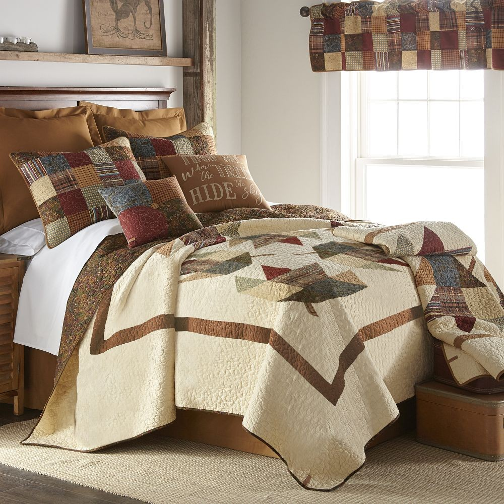 Maple Leaf Full Queen Size Quilt 90 X 90 Blanket Warehouse