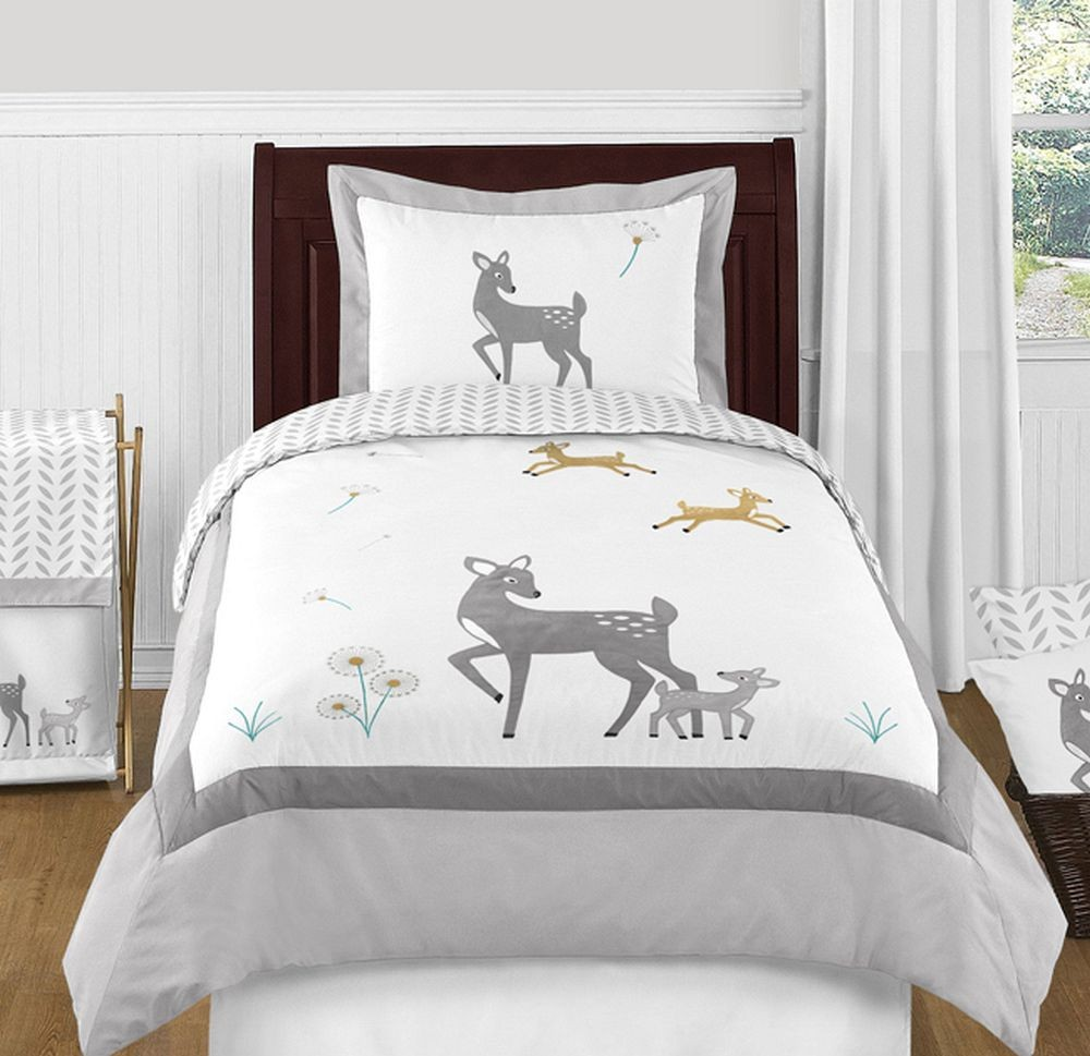 Deer Bedding Set 4 Piece Twin Size By Sweet Jojo Designs