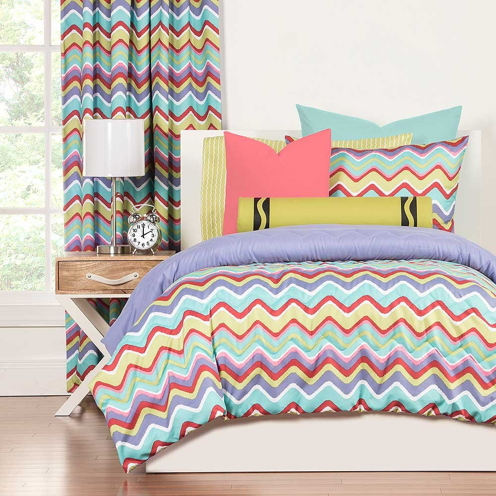 Mixed Palette Comforter Set from Crayola