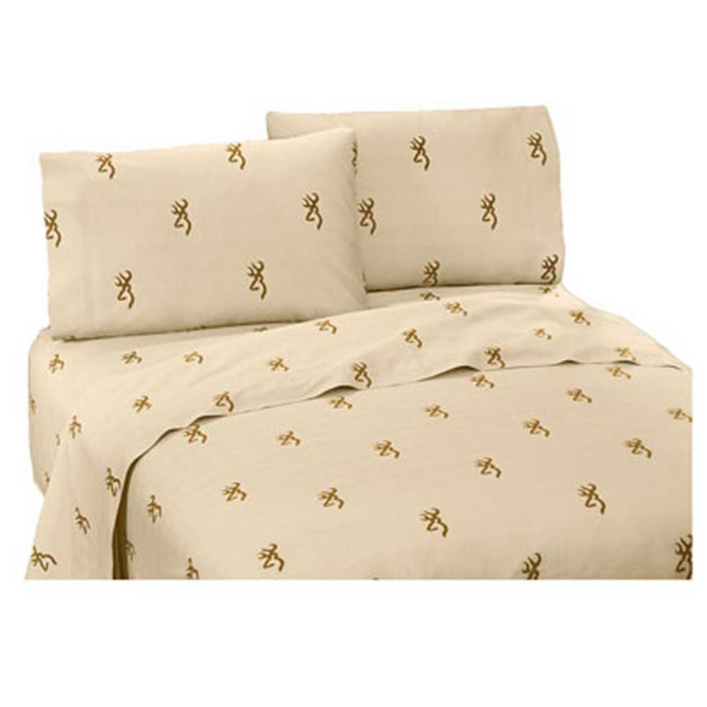 Oak Tree Buckmark Sheet Set - King Size