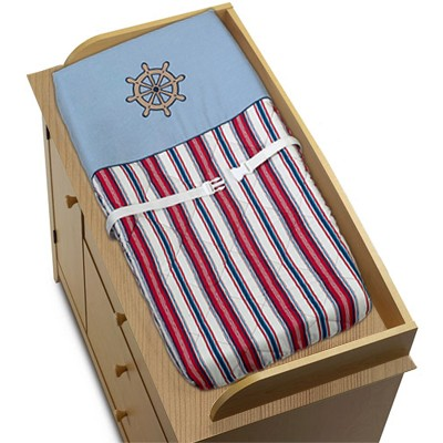 Nautical Nights Changing Pad Cover